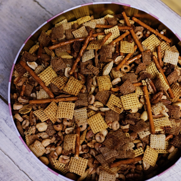 The Ultimate Holiday Party Chex Mix Recipe