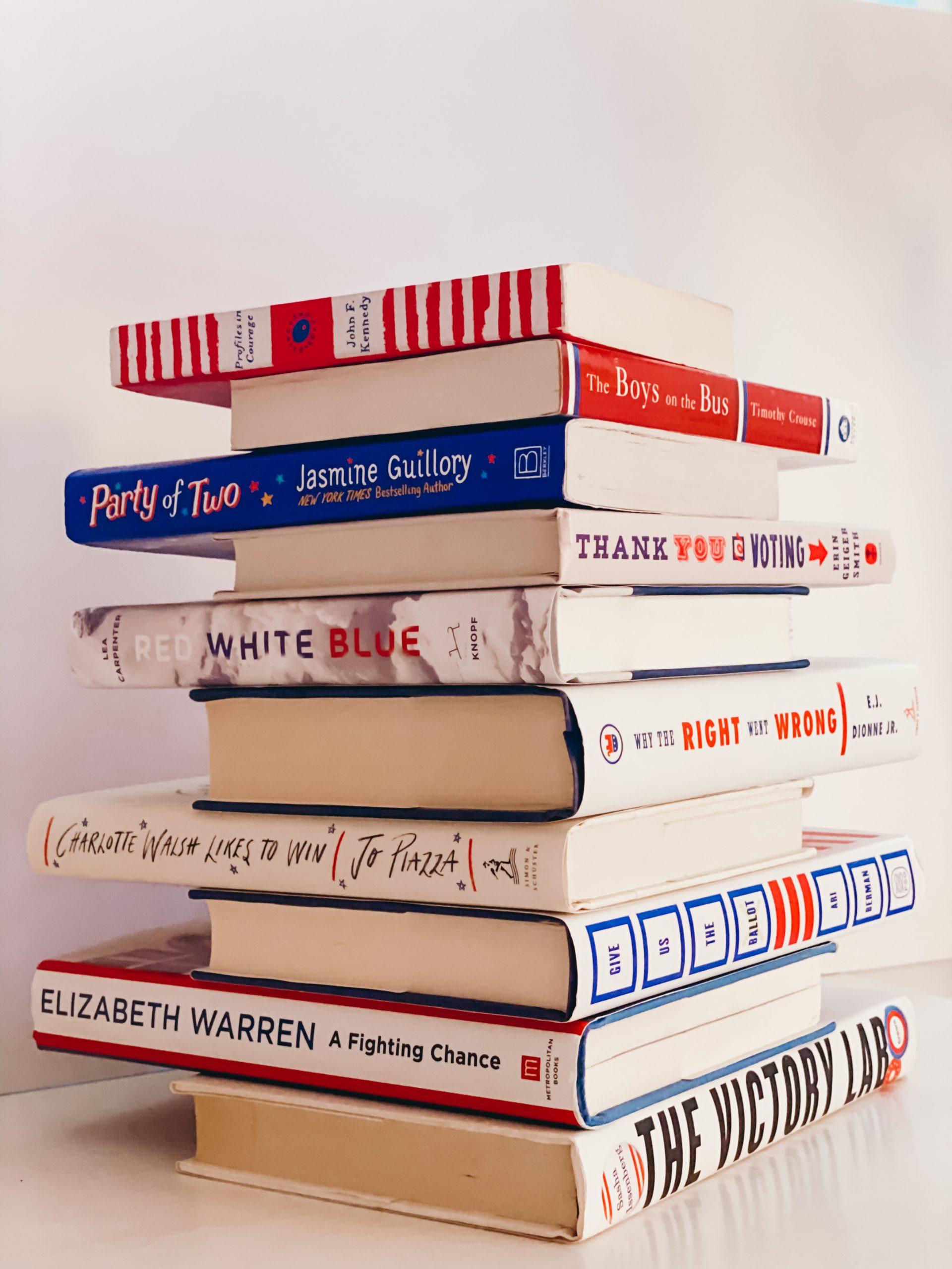 #BookTheVote Book Jenga
