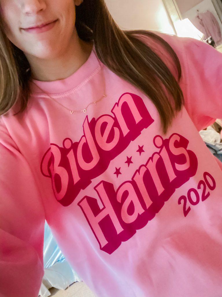 Voting Merchandise –Biden Sweatshirt