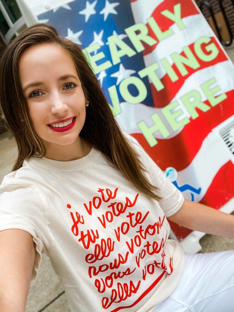 Voting Merchandise – Clare V. T-Shirt