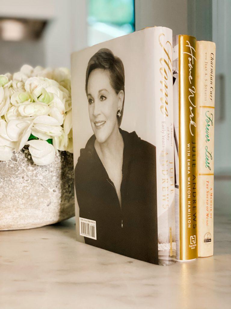 What I Read in October Julie Andrews